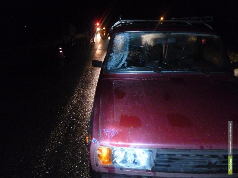 В Тамбовском районе автоледи на «четверке» сбила велосипедиста