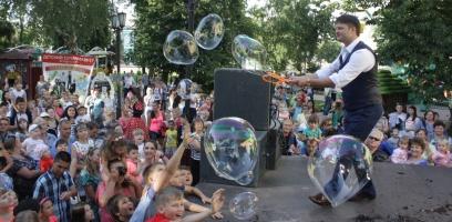Тамбовчан приглашают на «День мыльных пузырей»