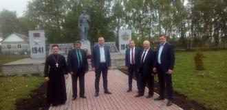 Депутаты проверили состояние мемориалов в Тамбовской области