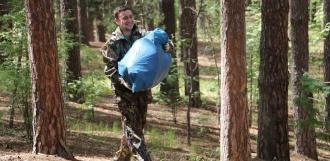 Добровольцы вывезли из Пригородного леса десятки мешков мусора