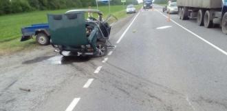 Две легковушки столкнулись в Гавриловском районе