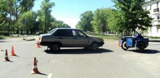 В Котовске в ДТП пострадал водитель мотоцикла