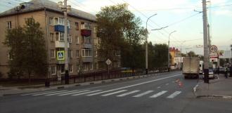 «Газель» сбила девочку на улице Мичуринской