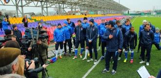 Тамбовские футболисты зовут болельщиков на открытую тренировку