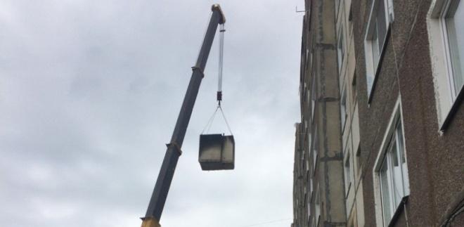Моршанскую многоэтажку, пострадавшую от взрыва, начали ремонтировать
