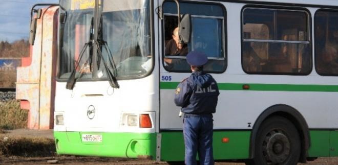 В регионе более 80 автобусов ездят с техническими неисправностями