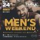 Вечеринка «Men's weekend»