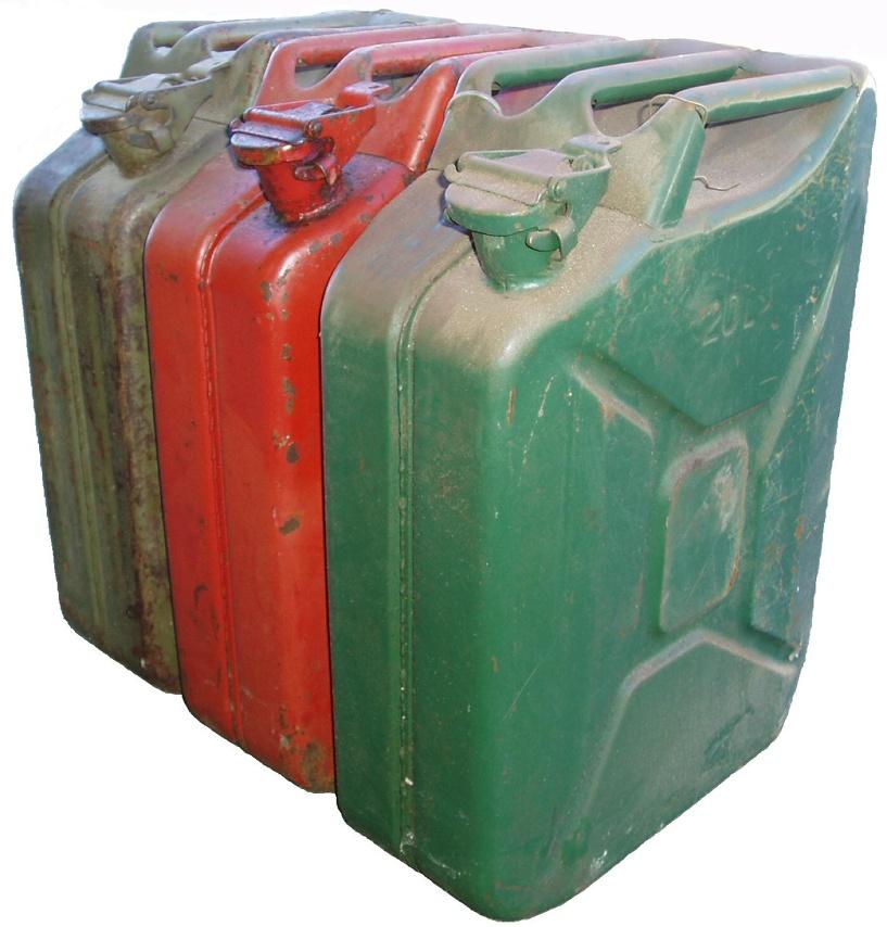 Молодой парень украл у соседа 120 литров солярки