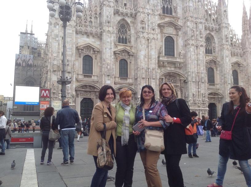Уроки итальянского для тамбовских парикмахеров в Милане