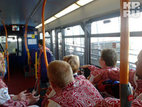 В Лондоне расстреляли автобус с паралимпийцами