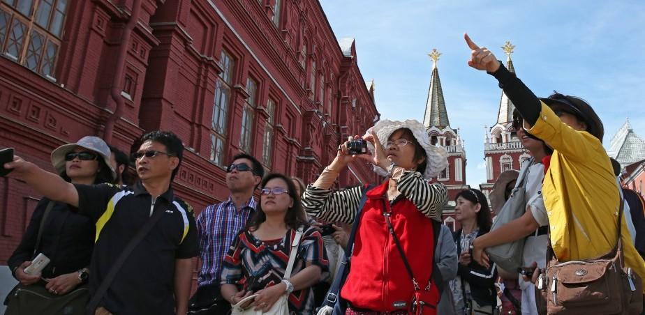Въездной турпоток в Россию за год вырос на 7%