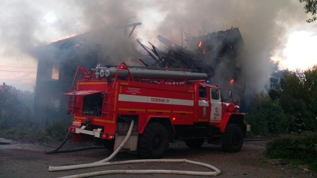 Осторожнее с огнём! Во время пожара в Тамбове пострадали два человека