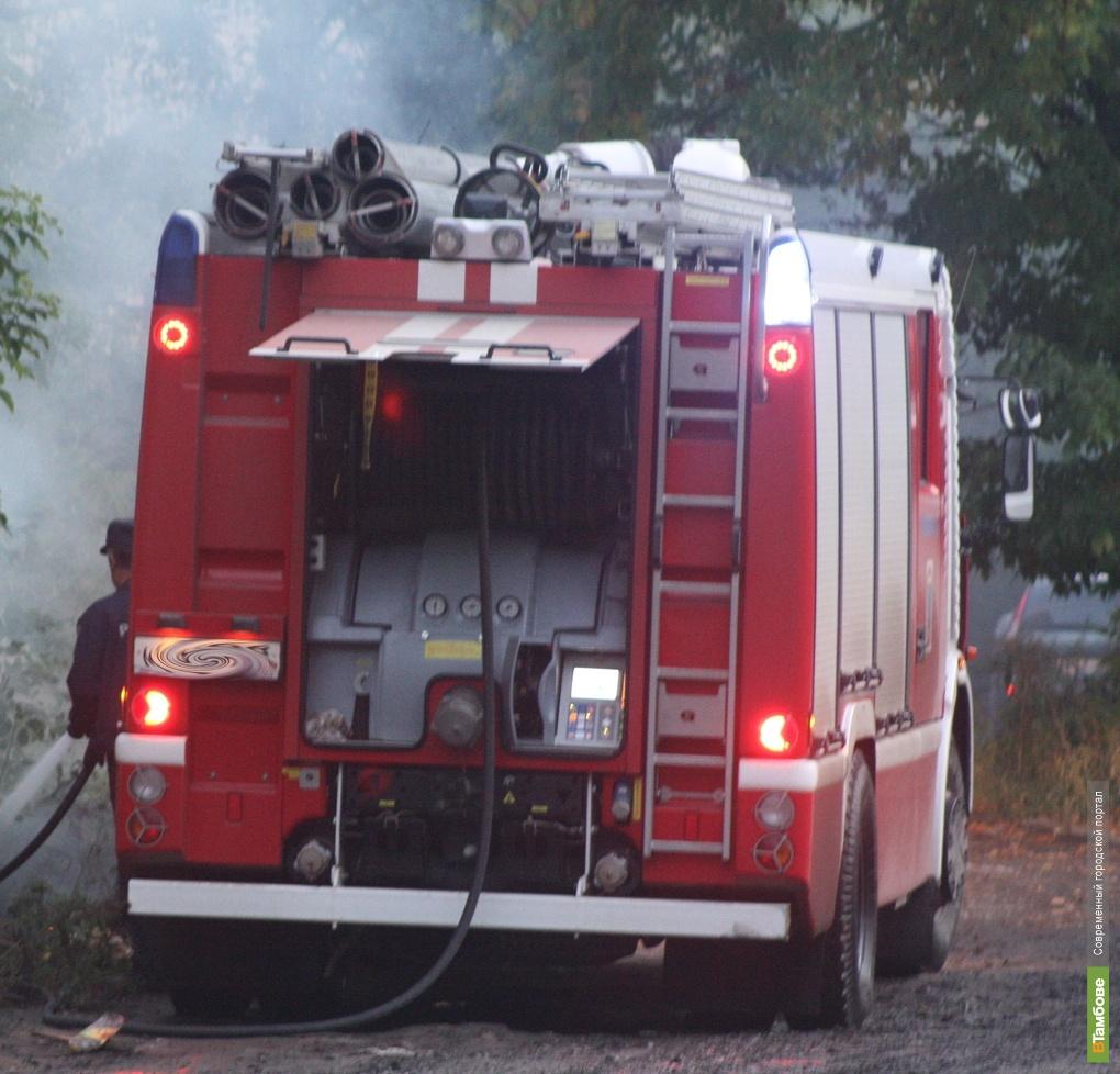 На Тамбовщине в огне заживо сгорел мужчина