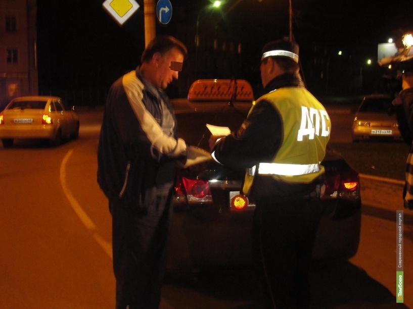 Полицейские Тамбова «поймали» 6 нелегальных такси