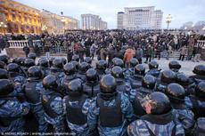 Спецподразделениям МВД запретили использовать грубую силу