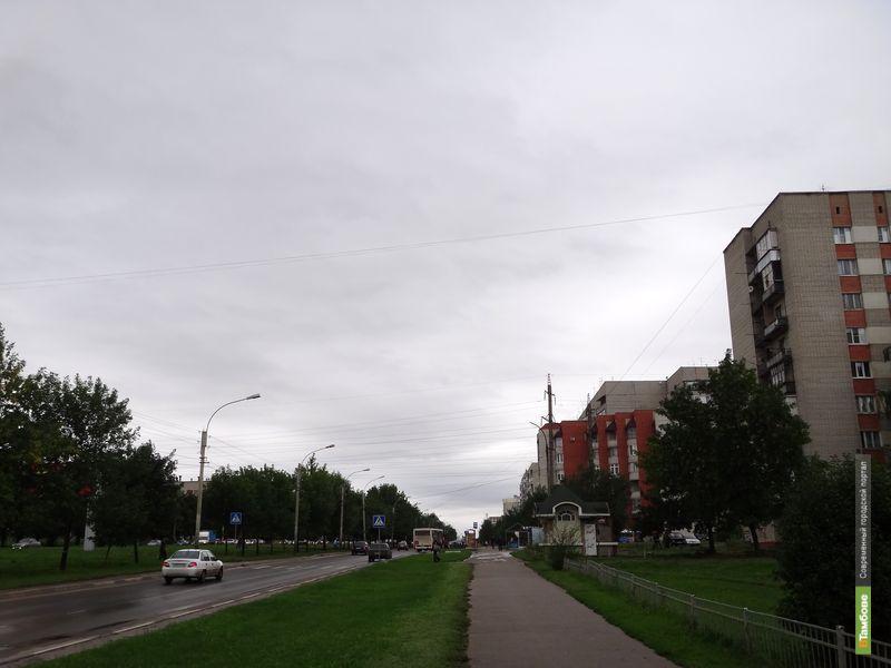 В Тамбове неожиданно началась осень