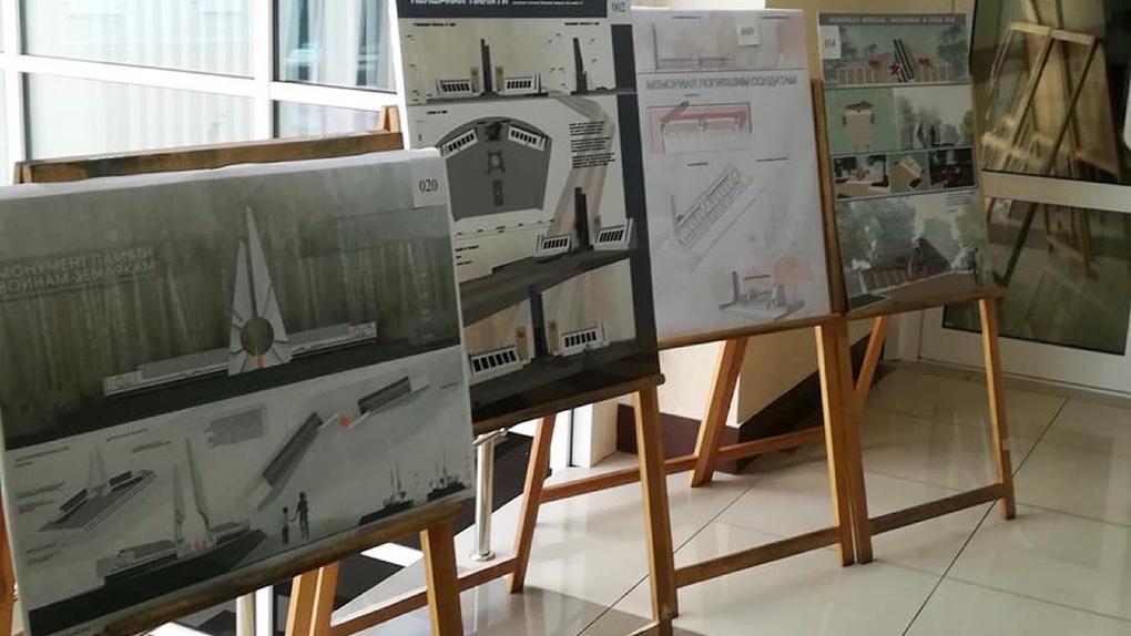 Молодые архитекторы ТГТУ спроектировали мемориалы, которые появятся в области