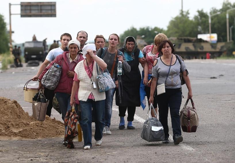 Чиновники запутались, сколько украинских беженцев перебрались в Россию