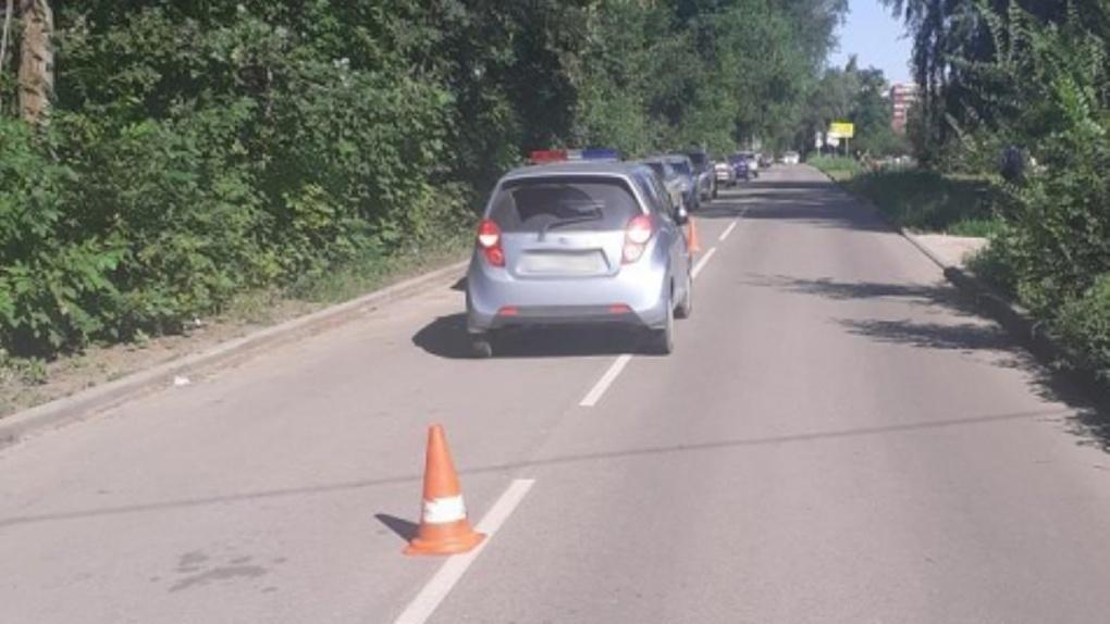 В Тамбове на улице Николая Вирты машина сбила пешехода