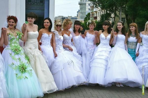 Невесты оккупируют Тамбов 12 июня