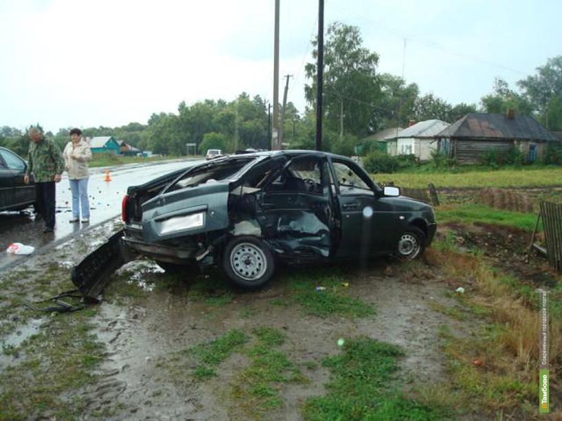 В Моршанском районе из-за плохой погоды столкнулись две легковушки