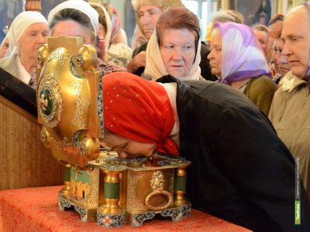 В Тамбов привезут православные святыни