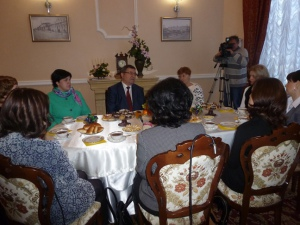 Тамбовские бизнес-леди поведали губернатору о своих успехах и проблемах