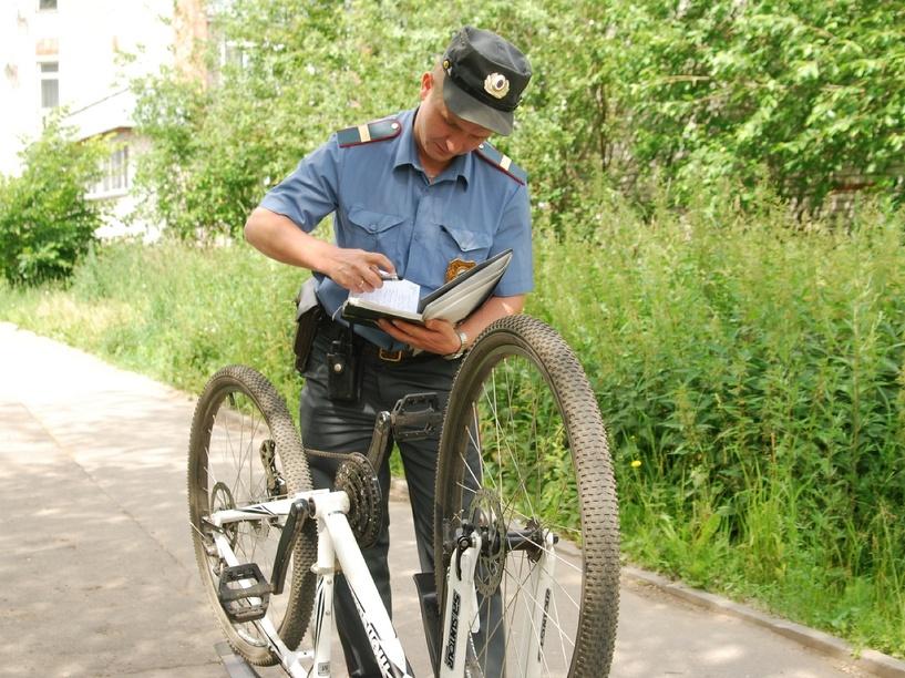 Грабитель отобрал у жительницы Мичуринска велосипед прямо на улице