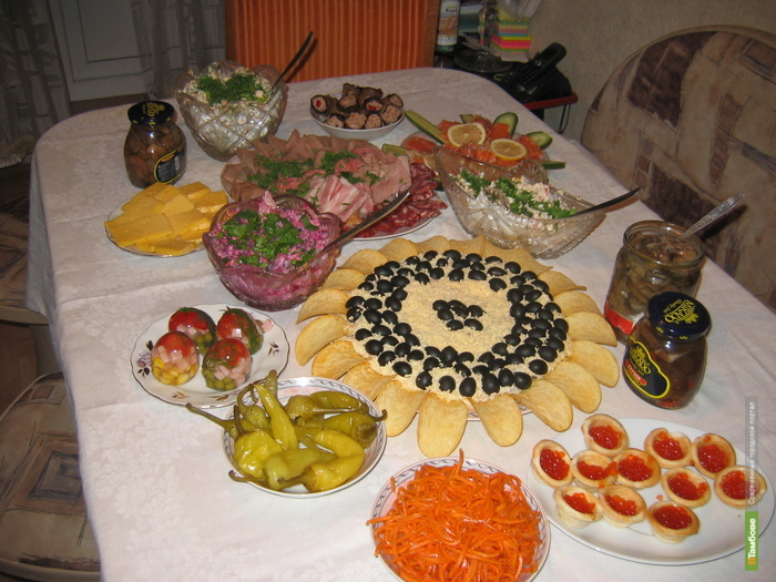 Новогодний стол обойдётся тамбовчанам в три тысячи рублей