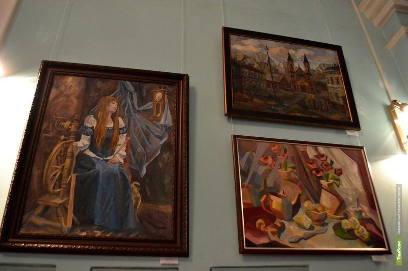 Работы тамбовских студентов попали в главную галерею области