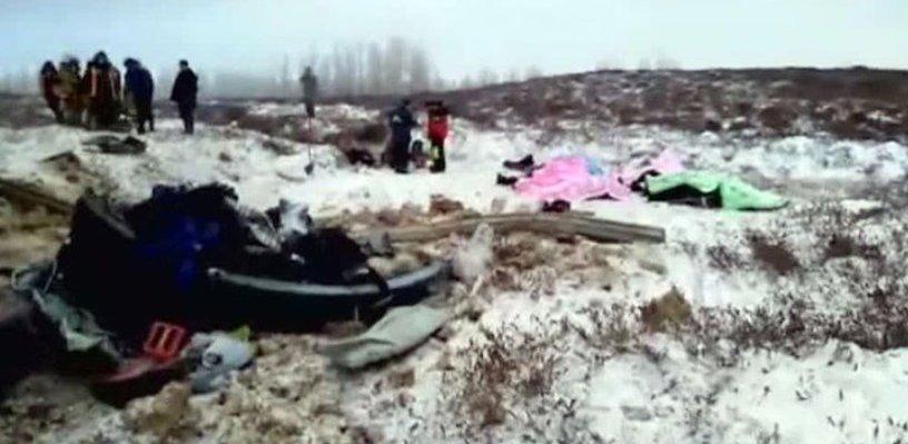 В Кирсановском районе упал вертолёт: два человека погибли