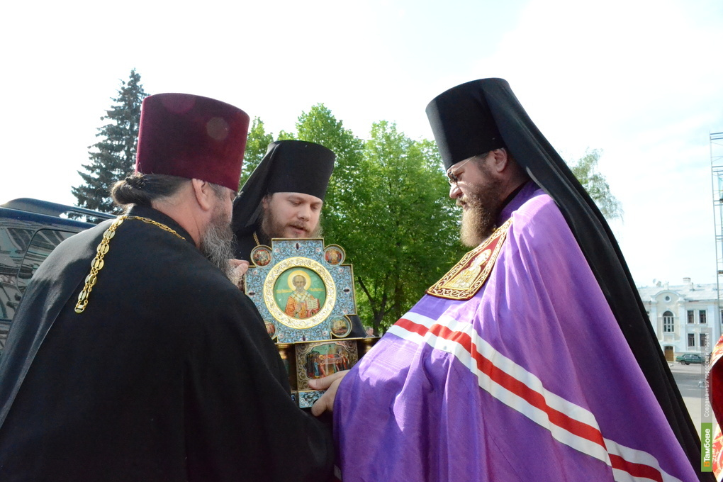 Мощи святителя Николая в Тамбове: фоторепортаж