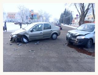 Renault и «Гранта» не поделили котовскую дорогу