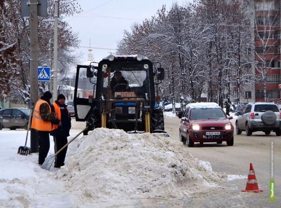 Управление МЧС предупреждает тамбовчан о возможных снегопадах