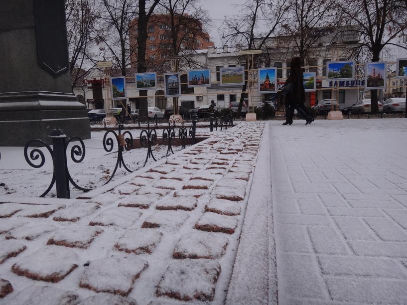 В области ожидаются снегопады