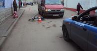 В Тамбове юная велосипедистка попала под колеса микроавтобуса