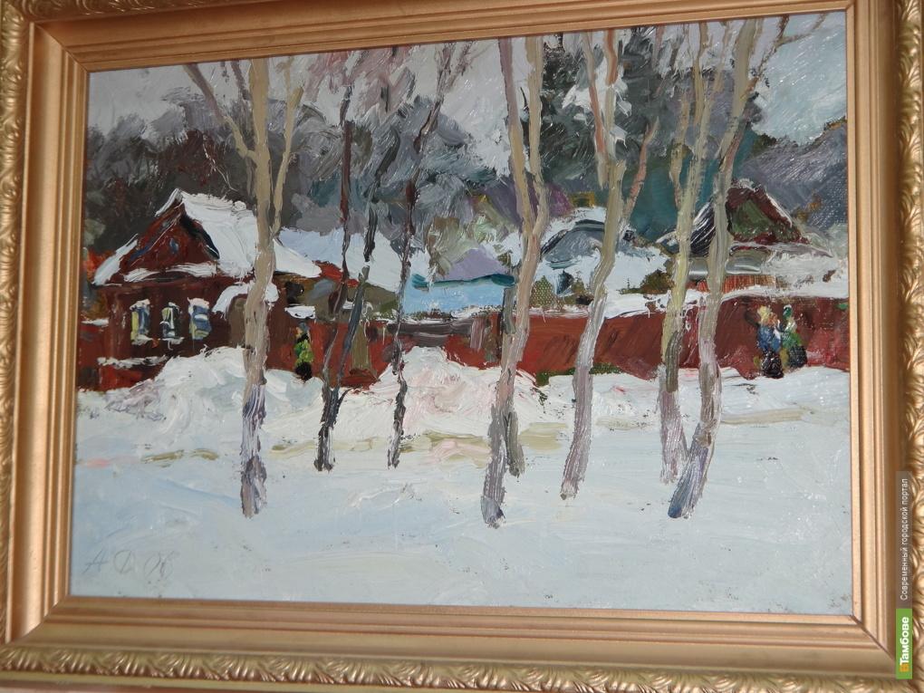 В Тамбове открылась выставка Анатолия Фалеева