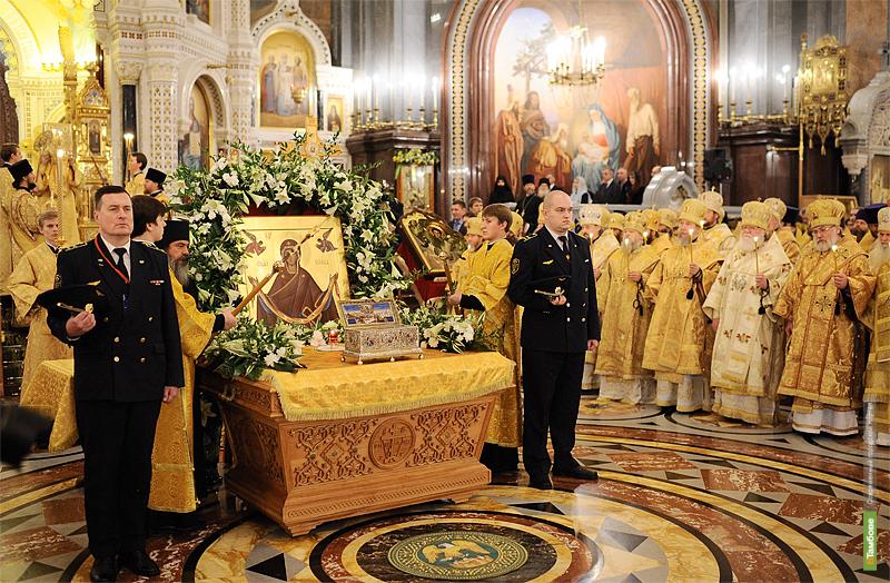 Тамбовские священники проведут службу в столице