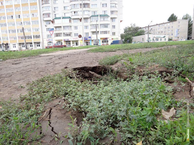 У тамбовчан под ногами проваливается земля
