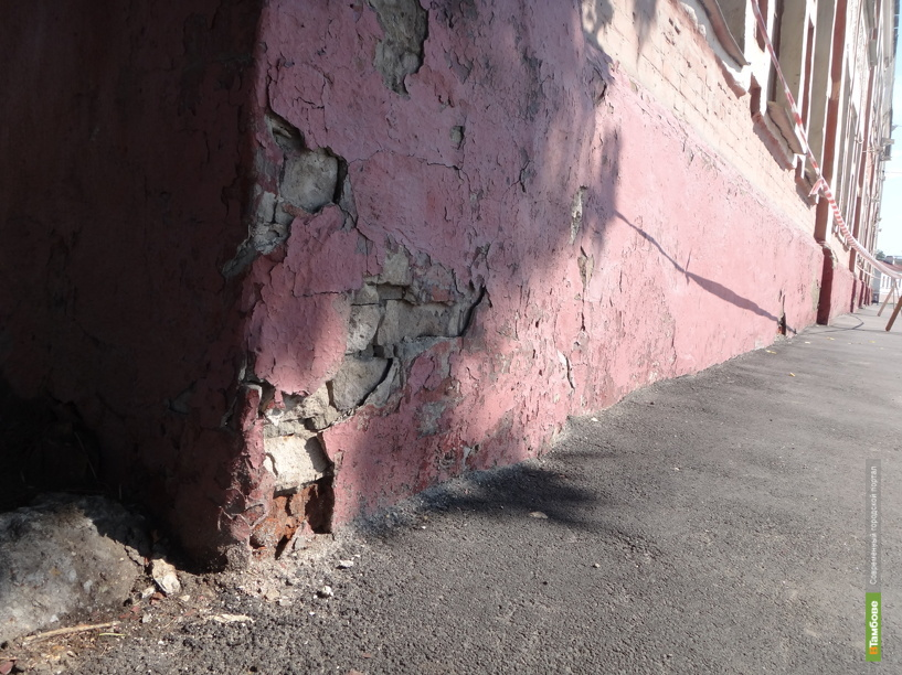 Суд заставил жительницу Моршанска отремонтировать фасад своего дома