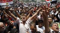 В Каире тысячи человек вышли на митинг