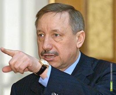 В Тамбовскую область наведается Александр Беглов