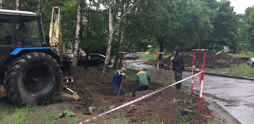 50 лет смогут прослужить новые квартальные сети на улице Николая Вирты