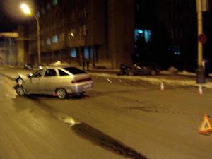 В ДТП в центре Тамбова пострадали четыре человека