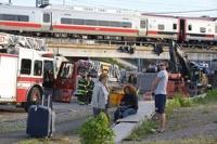 В Америке 50 человек пострадали при столкновении поездов