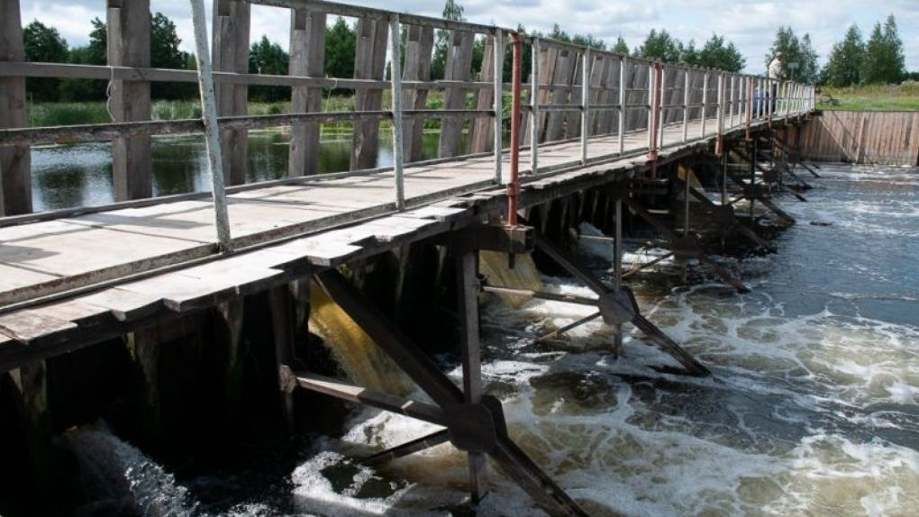 Уровень воды в Цне может упасть из-за ремонта плотины