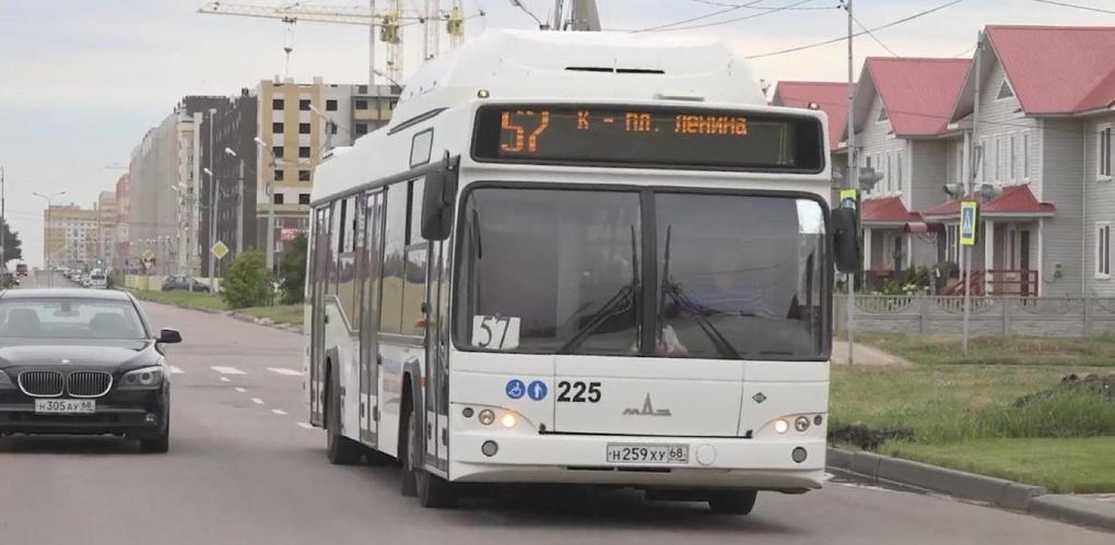 Микрорайон Радужный связали с центром Тамбова автобусным маршрутом