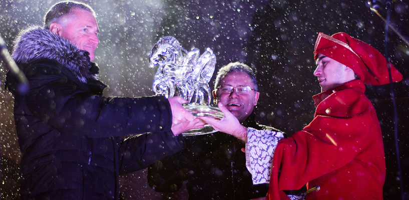 В Тамбове состоялась церемония закрытия «Новогодней столицы России»