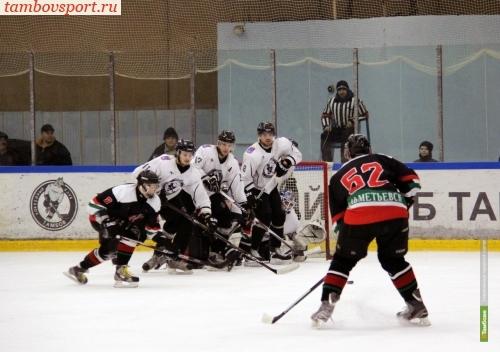 Хоккеисты из Тамбова выиграли предпоследний матч сезона