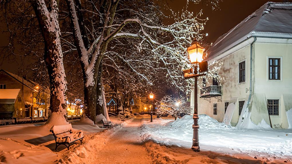 В Рождественскую ночь фонари в Тамбове будут гореть до самого утра